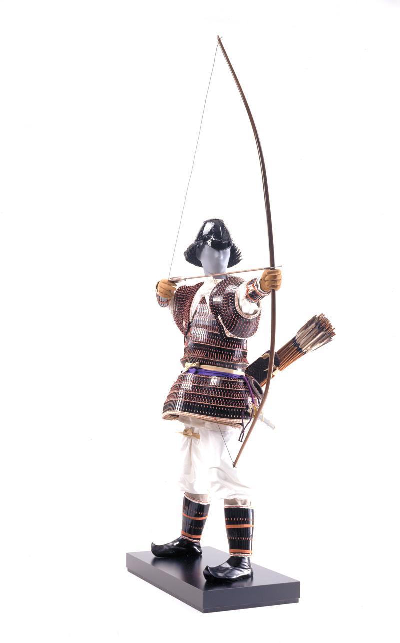 飛鳥時代の武人復原(奈良文化財研究所蔵)